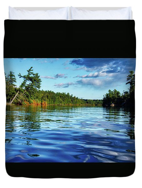 Northern Waters Duvet Cover