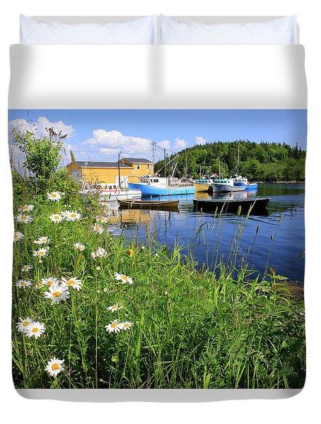 Northwest Harbour, Nova Scotia Duvet Cover