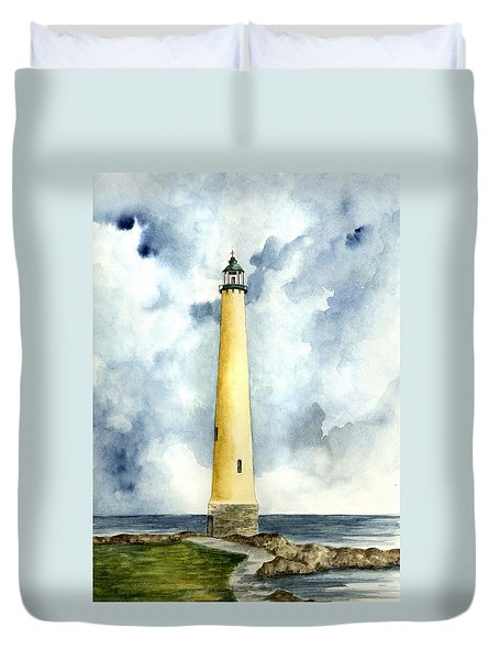Northwood Lighthouse Duvet Cover by Michael Vigliotti