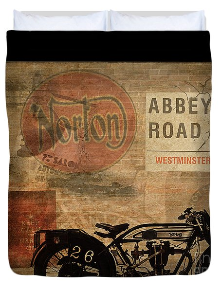 Norton Duvet Cover by Cinema Photography
