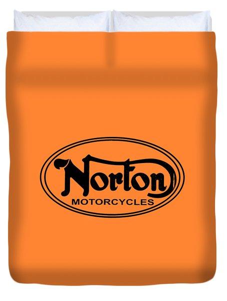 Norton Motorcycles Duvet Cover
