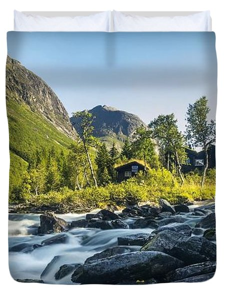 Norway II Duvet Cover
