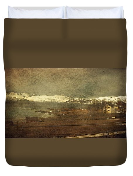 Norwegian Coast Duvet Cover