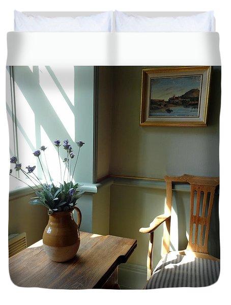 Norwegian Interior #2 Duvet Cover by Susan Lafleur