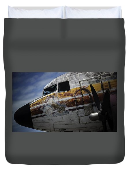 Nose Art Duvet Cover