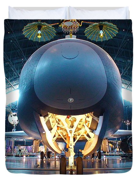 Nose Down - Enterprise Duvet Cover by Charles Kraus