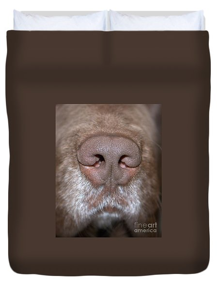 Nosey Duvet Cover by Debbie Stahre