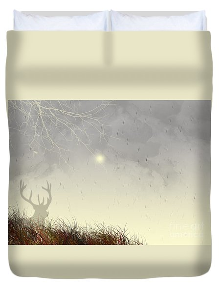 Nostalgic Moments Duvet Cover by Trilby Cole