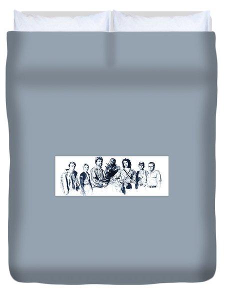Nostromo Crew Duvet Cover