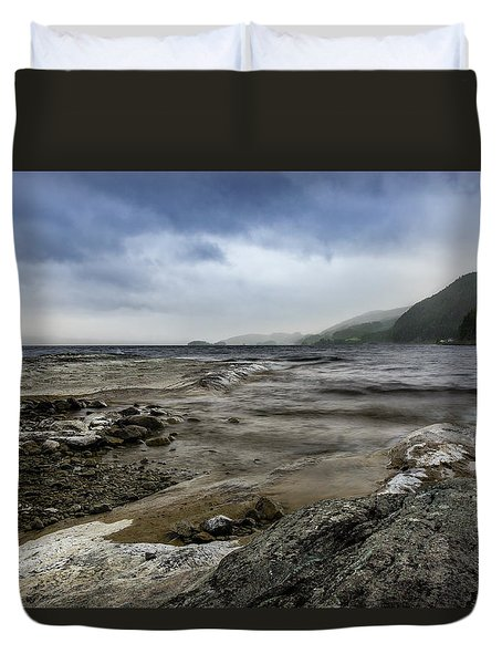 Duvet Cover featuring the photograph Not A Better Day To Go Fishing by Dmytro Korol