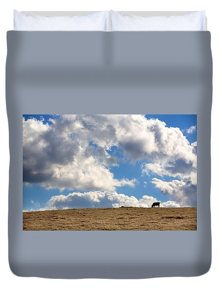 Not A Cow In The Sky Duvet Cover