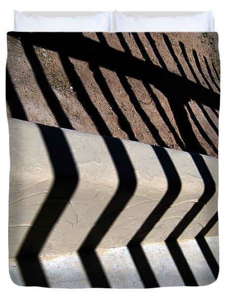 Not A Zebra Duvet Cover by Susanne Van Hulst