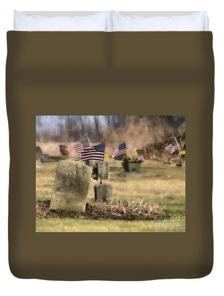 Not Forgotten Duvet Cover by JRP Photography