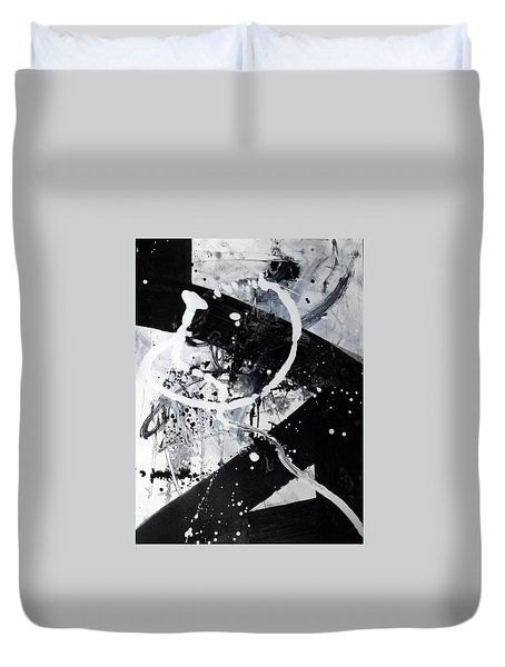 Not Just Black And White2 Duvet Cover