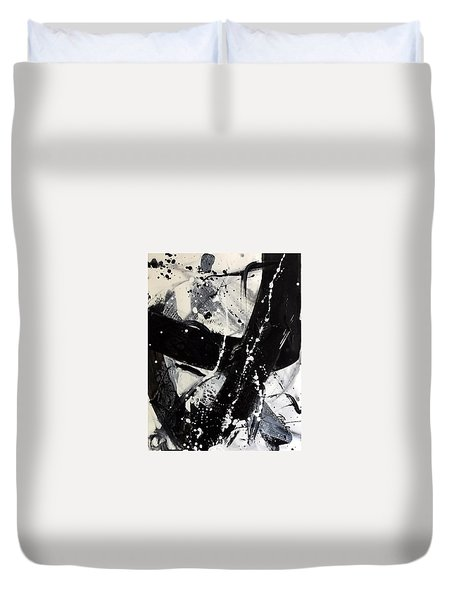 Not Just Black And White3 Duvet Cover