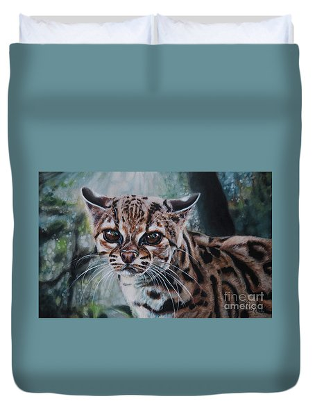 Not Today Duvet Cover