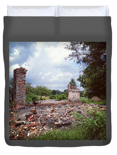Nothing But Rubble Duvet Cover
