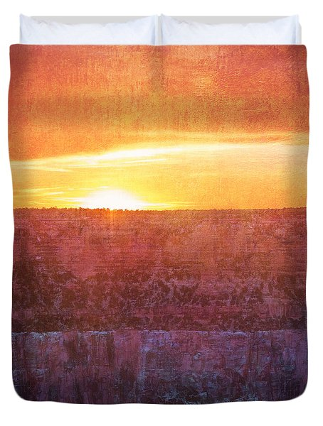 Nothing Ever Lasts Forever Duvet Cover