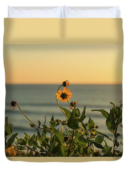 Duvet Cover featuring the photograph Nothing Gold Can Stay by Ana V Ramirez