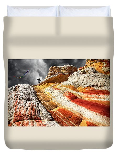 Nothing Is Ours But Time 3 Duvet Cover