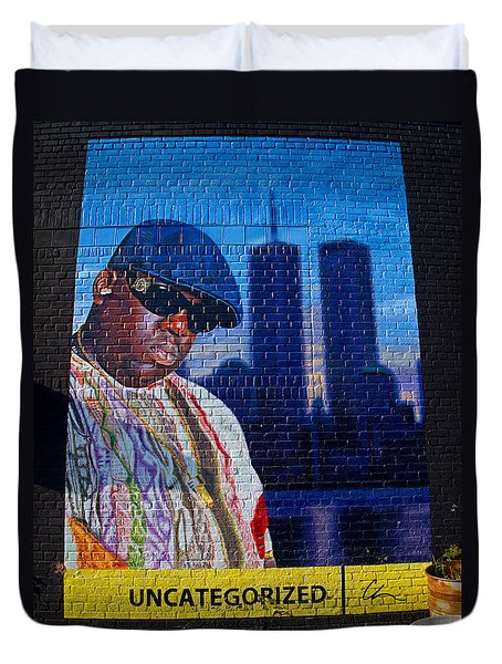 Notorious B.i.g. Duvet Cover