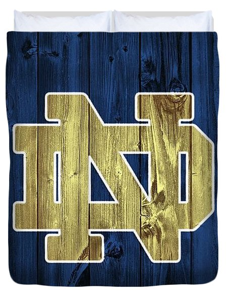 Notre Dame Barn Door Duvet Cover by Dan Sproul