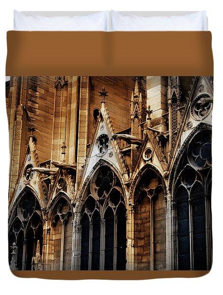Notre Dame Duvet Cover