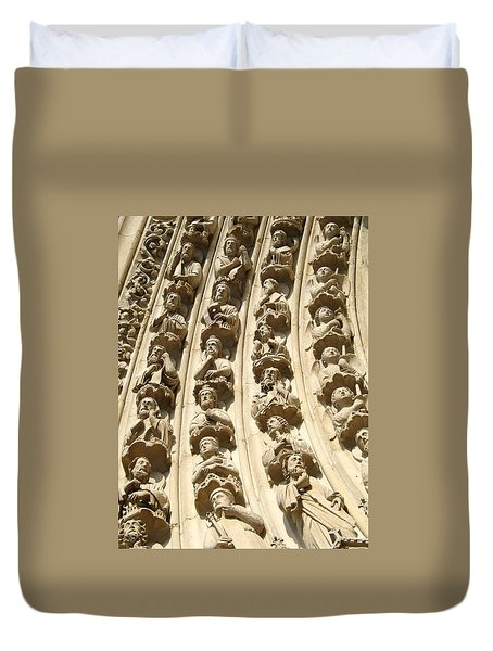 Notre Dame Duvet Cover by Kristy Ashton