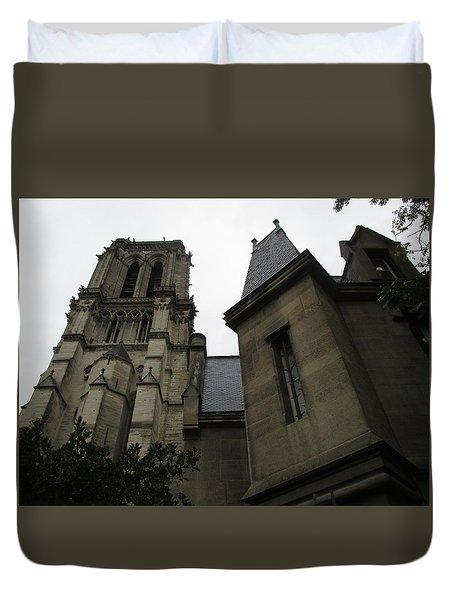 Notre Dame Paris Southwest Duvet Cover