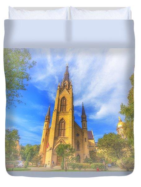 Notre Dame University 5 Duvet Cover