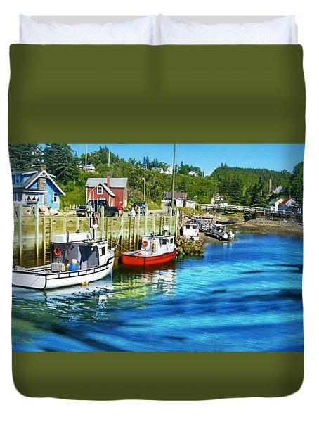 Nova Scotia Duvet Cover by Robin Regan