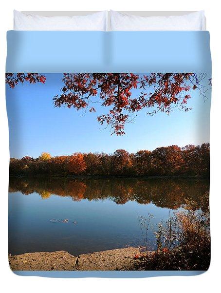November Colors Duvet Cover by Teresa Schomig