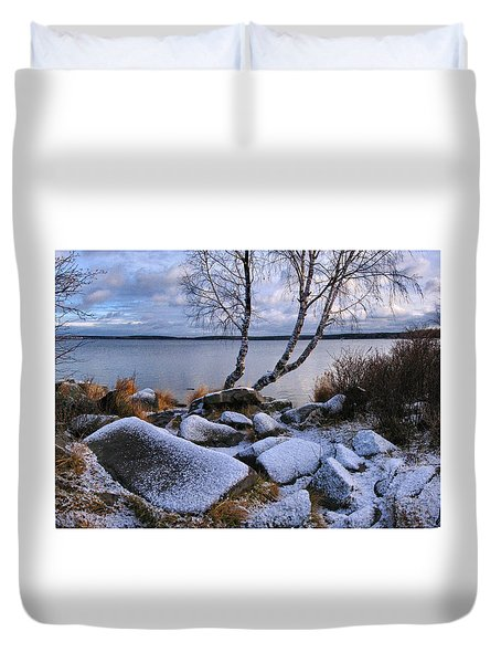 November Day Duvet Cover