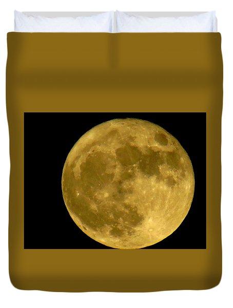 November Full Moon Duvet Cover by Eric Switzer