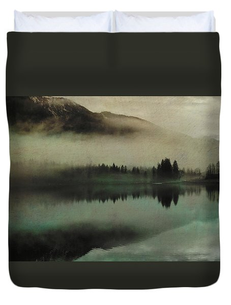 November Lake Duvet Cover by AugenWerk Susann Serfezi