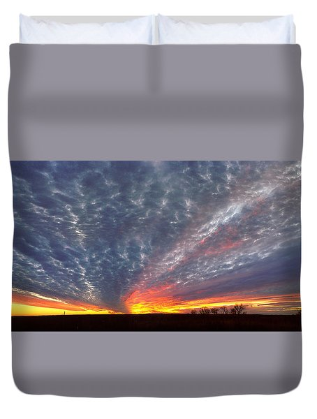 November Magic Duvet Cover