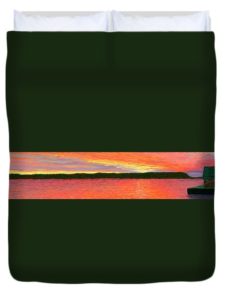 November Sunset Special Crop Duvet Cover