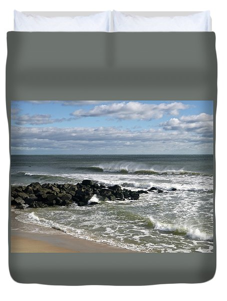 November Wind Duvet Cover