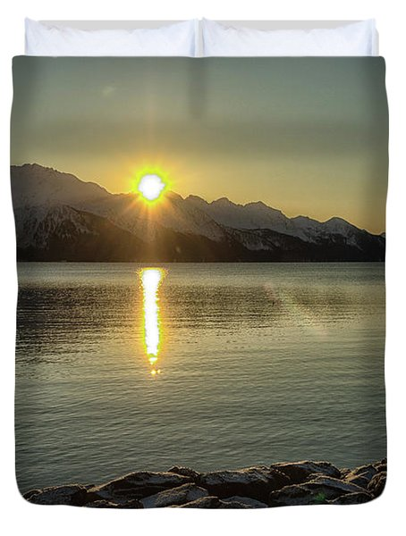 Now That Is A Pretty Picture Duvet Cover