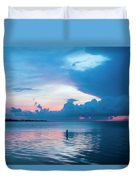Now The Day Is Over Duvet Cover