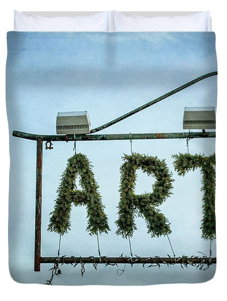 Now This Is Art Duvet Cover