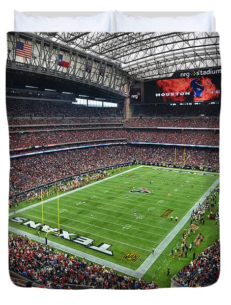 Nrg Stadium - Houston Texans  Duvet Cover