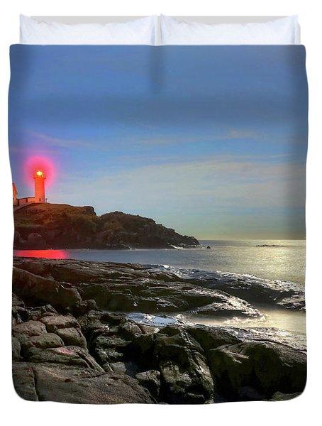 Nubble Light 457 Duvet Cover