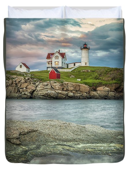 Nubble Light Duvet Cover by Brian Caldwell