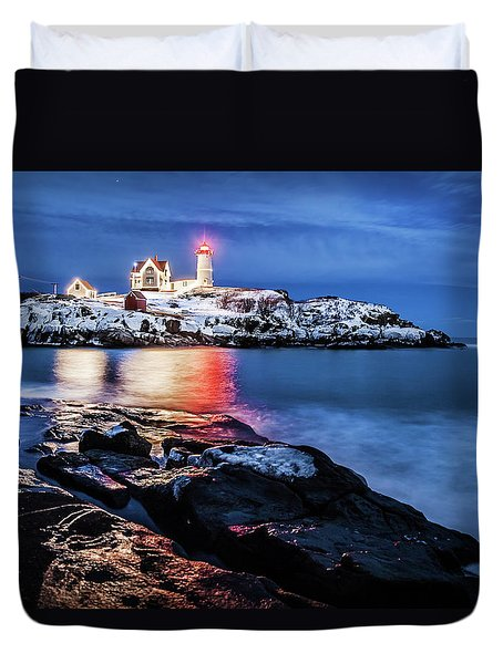 Nubble Lights Duvet Cover