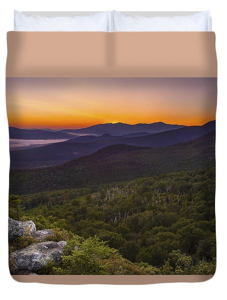 Nubble Sunrise Duvet Cover
