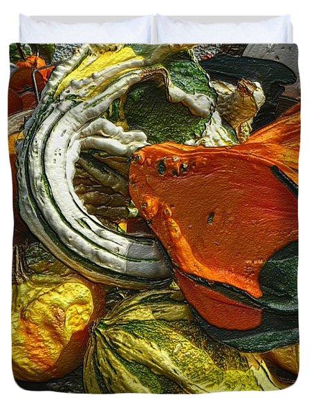 Nubby Squash Duvet Cover