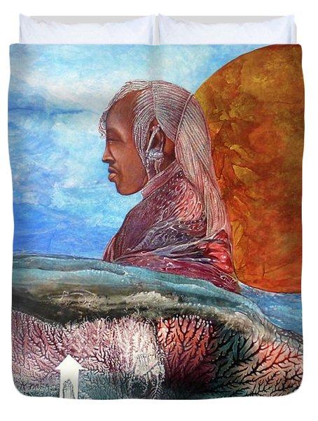 Nubian Dream  Duvet Cover