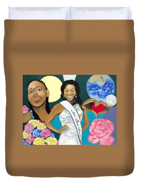 Nubian Princess Duvet Cover