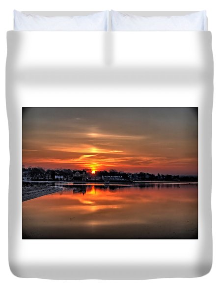 Nuclear Morning Duvet Cover